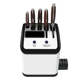 Modern Knife Storage Block with Bristles Perfect for Home Restaurant/ Bamsira_BSCI,FSC